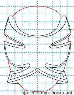 侍戦隊シンケンジャー シンケンピンク07 イラストの描き方 sinken