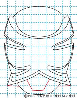侍戦隊シンケンジャー シンケンピンク08 イラストの描き方 sinken