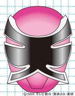 侍戦隊シンケンジャー シンケンピンク完成02 イラストの描き方 sinken