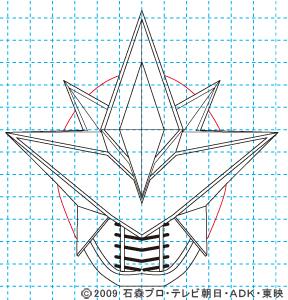 劇場版 超電王&ディケイド NEW電王 ベガフォーム11 イラストの描き方
