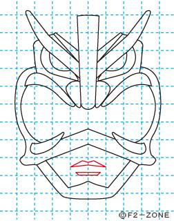 超神ネイガー09 秋田県 ローカルヒーロー イラストの描き方