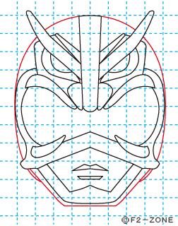 超神ネイガー10 秋田県 ローカルヒーロー イラストの描き方