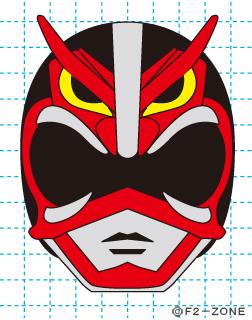 超神ネイガー完成01 秋田県 ローカルヒーロー イラストの描き方