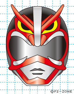 超神ネイガー完成02 秋田県 ローカルヒーロー イラストの描き方