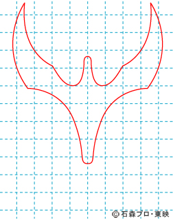 仮面ライダークウガ クウガ01 イラストの描き方 マイティフォーム