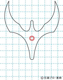 仮面ライダークウガ クウガ02 イラストの描き方 マイティフォーム