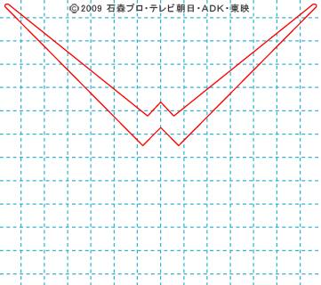 仮面ライダーW(ダブル) ダブル01 イラストの描き方 サイクロンジョーカー