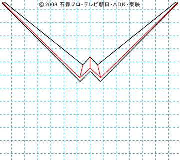 仮面ライダーW(ダブル) ダブル02 イラストの描き方 サイクロンジョーカー