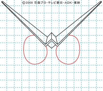 仮面ライダーW(ダブル) ダブル04 イラストの描き方 サイクロンジョーカー
