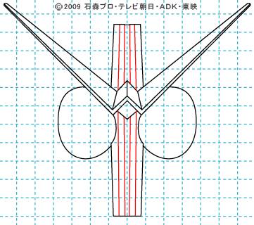 仮面ライダーW(ダブル) ダブル06 イラストの描き方 サイクロンジョーカー