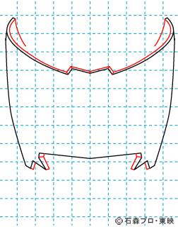仮面ライダー龍騎(りゅうき) イラストの描き方 Dragon Knight02
