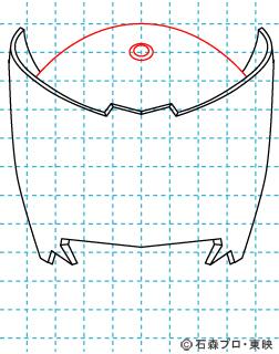 仮面ライダー龍騎(りゅうき) イラストの描き方 Dragon Knight03