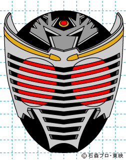 仮面ライダー龍騎(りゅうき) イラストの描き方 Dragon Knight完成01