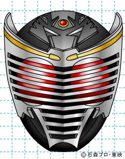 仮面ライダー龍騎(りゅうき) イラストの描き方 Dragon Knight完成02