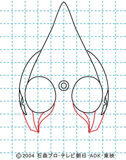 仮面ライダー剣(ブレイド) イラストの描き方 MASKED RIDER ♠ 04