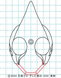 仮面ライダー剣(ブレイド) イラストの描き方 MASKED RIDER ♠ 05