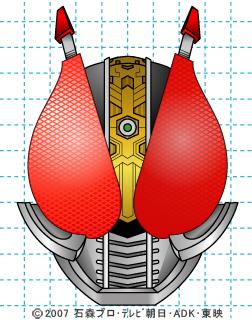 仮面ライダー電王 イラストの描き方 電王(ソードフォーム) DEN-O 完成02
