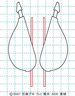 仮面ライダー電王 イラストの描き方 電王(ソードフォーム) DEN-O 03