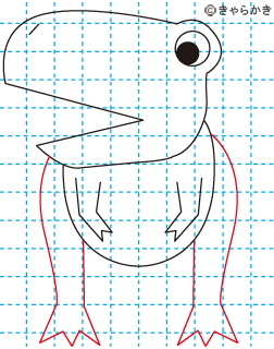 ティラノサウルス 恐竜 イラストの描き方 Dinosaur05