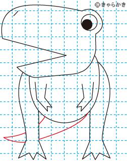 ティラノサウルス 恐竜 イラストの描き方 Dinosaur08