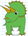 トリケラトプス 恐竜 イラストの描き方 Dinosaur