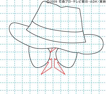 仮面ライダーW(ダブル) 仮面ライダースカル イラストの描き方 おやじさん04