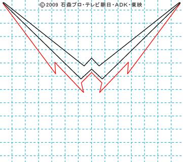仮面ライダーW(ダブル) 仮面ライダーダブル イラストの描き方 ファングジョーカー02