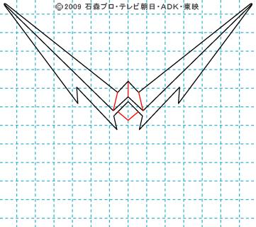 仮面ライダーW(ダブル) 仮面ライダーダブル イラストの描き方 ファングジョーカー03