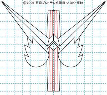 仮面ライダーW(ダブル) 仮面ライダーダブル イラストの描き方 ファングジョーカー06