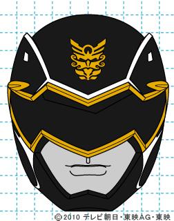 天装戦隊ゴセイジャー ゴセイブラック イラストの描き方 gosei black完成01