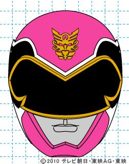 天装戦隊ゴセイジャー ゴセイピンク イラストの描き方 gosei pink完成01