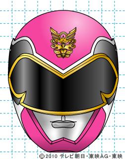 天装戦隊ゴセイジャー ゴセイピンク イラストの描き方 gosei pink完成02