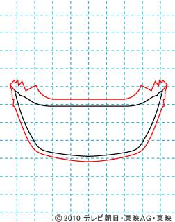 天装戦隊ゴセイジャー ゴセイブルー イラストの描き方 gosei blue02