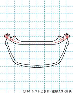 天装戦隊ゴセイジャー ゴセイブルー イラストの描き方 gosei blue03