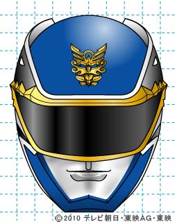 天装戦隊ゴセイジャー ゴセイブルー イラストの描き方 gosei blue完成02