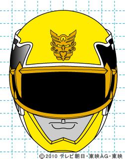 天装戦隊ゴセイジャー ゴセイイエロー イラストの描き方 gosei yellow完成01