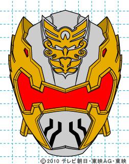 天装戦隊ゴセイジャー ゴセイナイト イラストの描き方 gosei knight完成01