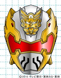 天装戦隊ゴセイジャー ゴセイナイト イラストの描き方 gosei knight完成02