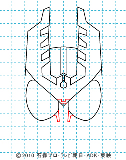 仮面ライダーオーズ イラストの描き方 ガタキリバ05.jpg