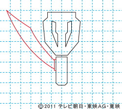 海賊戦隊ゴーカイジャー イラストの描き方 ゴーカイジャーマーク03.jpg
