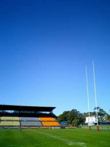 豪州NSW州にあるコンコード・オーバルラグビー場 芝のコンディションは豪州一番