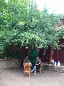 石宝山の宿