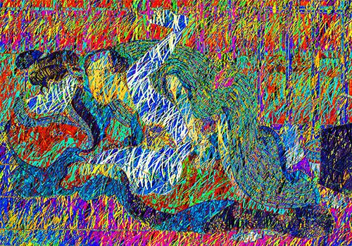 SYUNGA no.507  相転移する柳川重信 春情花のにしき 大川端の桟敷で『 SYUNGA