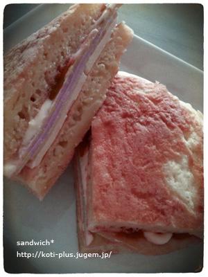 サンドイッチ*