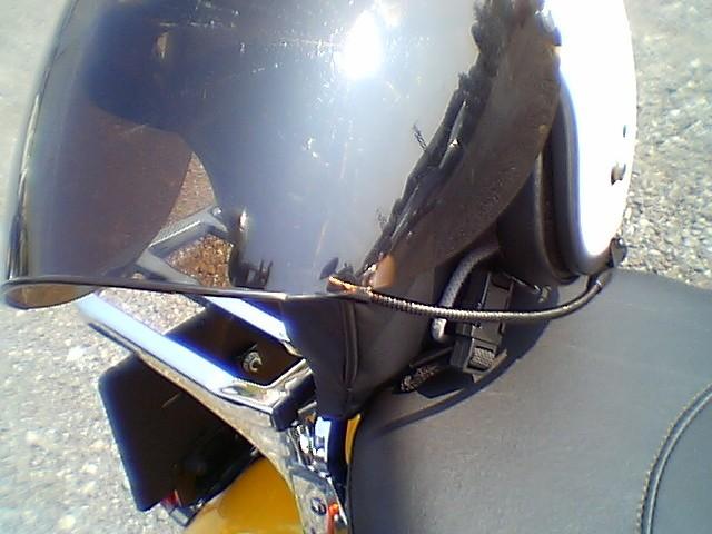 ヘルメットが固定し辛くなりました。