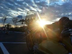 昇る朝陽とともに!