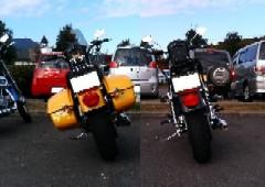 停車時のアングル比較 2005 モデル vs 2006 モデル