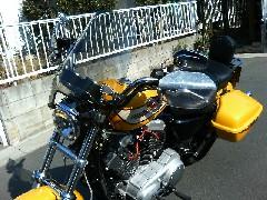 XL1200L のハンドルバー最高ッス!