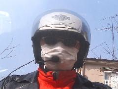 花粉症対策のマスクですが。。。