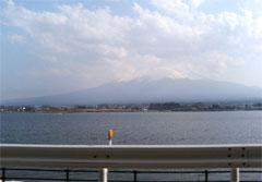 西湖からの富士山もキレイでした! (^_^)